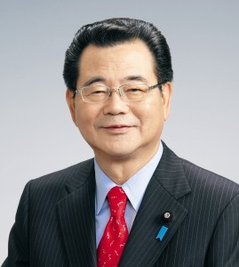 日本遺族会会長 水落敏栄