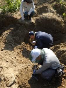 ハバロフスク地方での遺骨収集