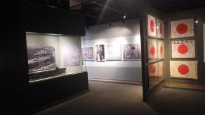 コロンビア川海洋博物館のOBONソサエティ展示コーナー=アストリアで