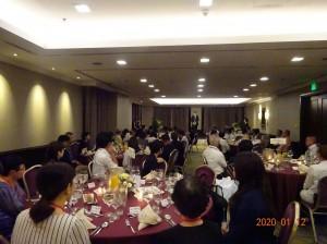 在フィリピン日本国大使館から来賓を招いての懇談会